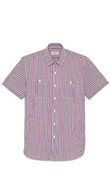 Maison Kitsune Classic Check Shirt