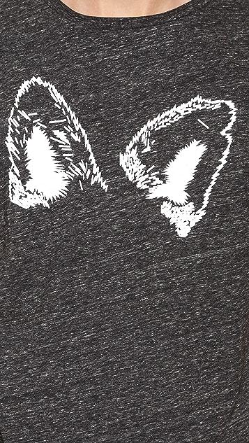 Maison Kitsune Ears T-Shirt