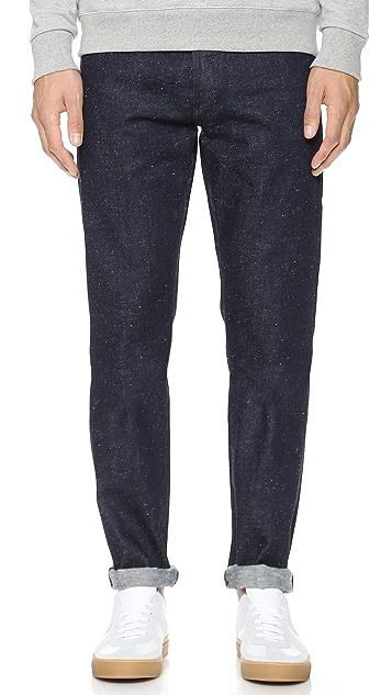 Maison Kitsune Slim Fit Jeans