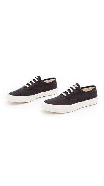Maison Kitsune Canvas Sneakers