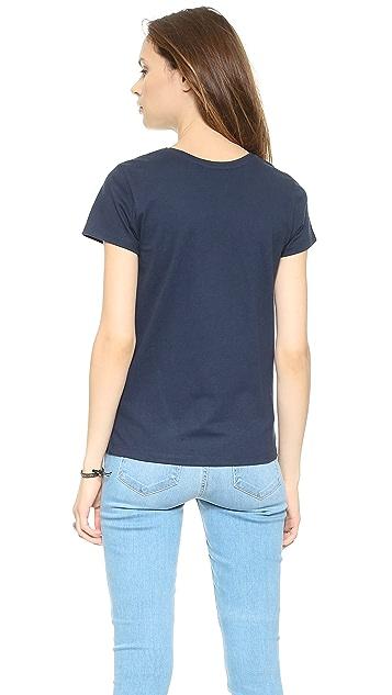 Maison Kitsune Patch Pocket T-Shirt
