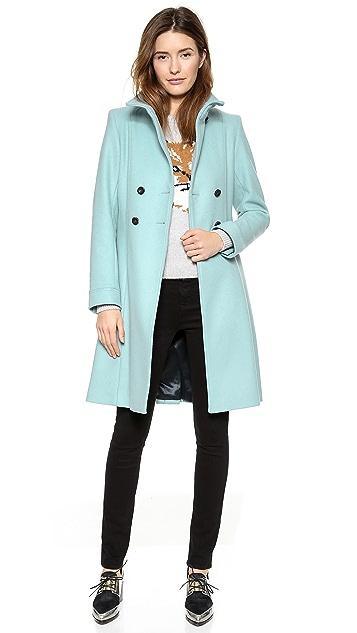 Maison Kitsune Twiggy Trench Coat