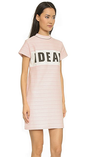 Maison Kitsune Ideal Print Dress