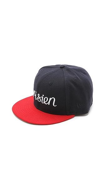 Maison Kitsune Kitsune X New Era 59 Fifty Cap