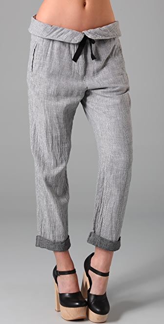 Scotch & Soda/Maison Scotch Beach Pants with Folded Waistband