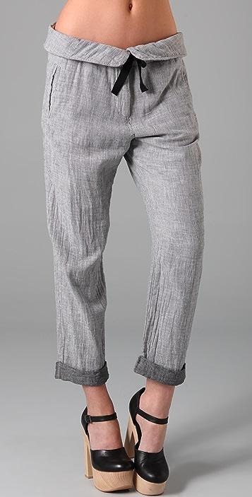 Scotch & Soda/Maison Scotch Beach Pants with Folded Waistband