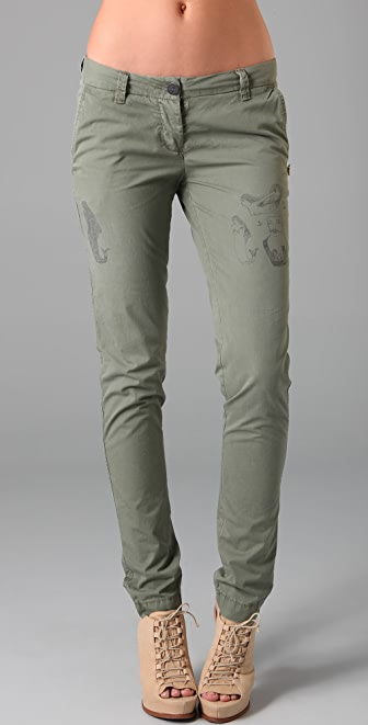 Scotch & Soda/Maison Scotch Tattoo Chino Pants