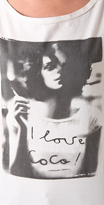 Scotch & Soda/Maison Scotch I Love Coco Photograph Tee