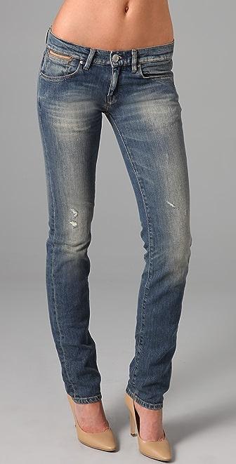 Maison Scotch Cinq P Straight Leg Jeans