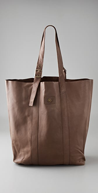 Scotch & Soda/Maison Scotch Washed Leather Shopper