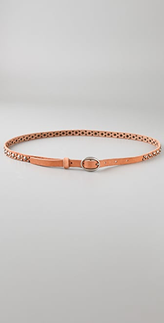 Scotch & Soda/Maison Scotch Thin Studded Belt