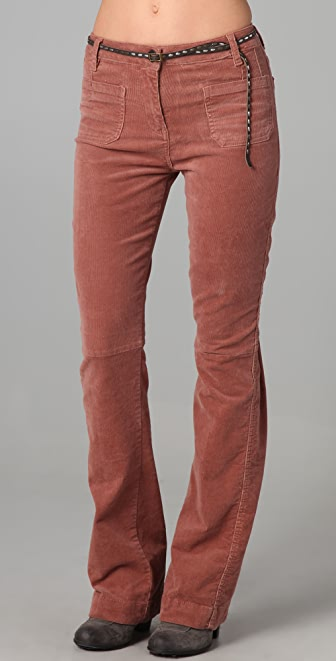Scotch & Soda/Maison Scotch Belted Corduroy Pants