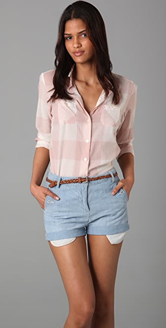 Scotch & Soda/Maison Scotch Boyfriend Check Shirt