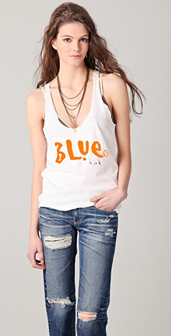 Maison Scotch Blue Bird Tank