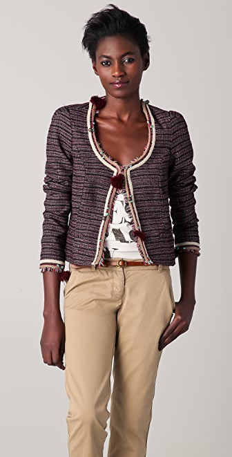 Scotch & Soda/Maison Scotch Embellished Fashion Jacket