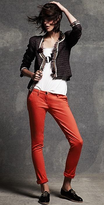 Scotch & Soda/Maison Scotch Embellished Fashion Jacket