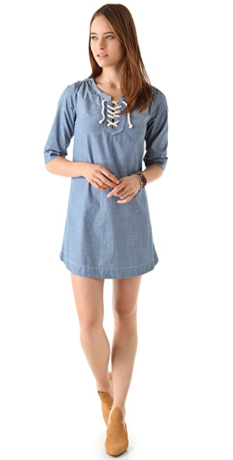 Scotch & Soda/Maison Scotch Chambray Sailor Dress