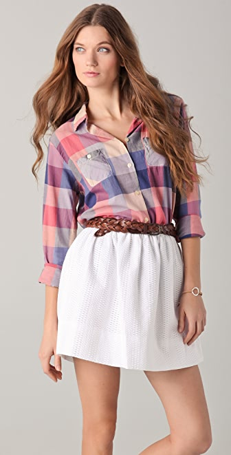 Scotch & Soda/Maison Scotch Checkered Shirt