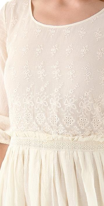 Scotch & Soda/Maison Scotch Embroidered Lace Dress