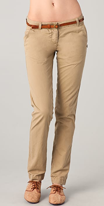 Scotch & Soda/Maison Scotch Belted Basic Chino Pants