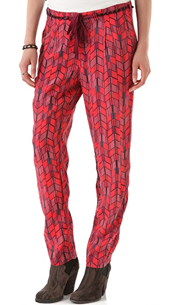 Maison Scotch Baggy Printed Pants