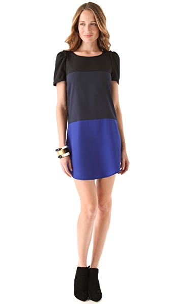 Maison Scotch Color Block Dress
