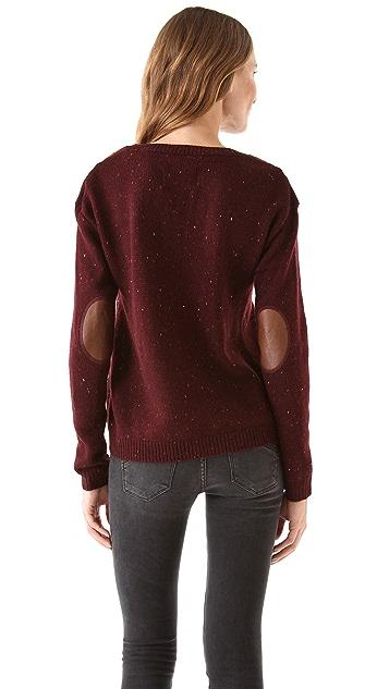 Scotch & Soda/Maison Scotch Boxy Fit Knitted Melange Sweater