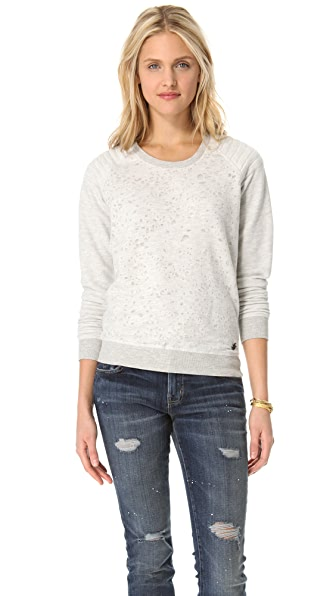 Maison Scotch Biker Sweatshirt