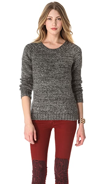 Scotch & Soda/Maison Scotch Sequin Biker Sweater