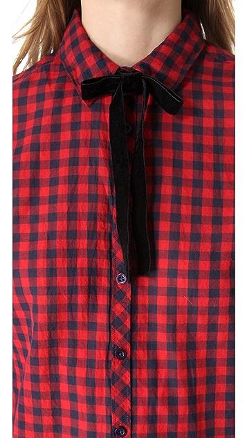 Scotch & Soda/Maison Scotch Checked Western Shirt