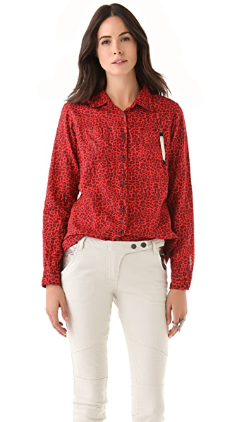 Maison Scotch Front Knot Shirt