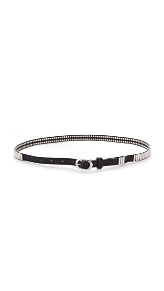 Maison Scotch Thin Rocker Belt