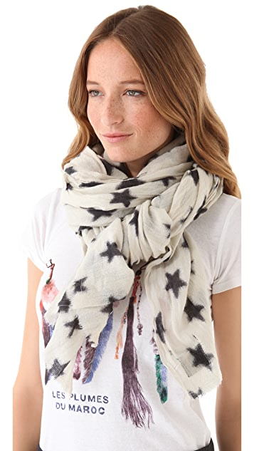 Scotch & Soda/Maison Scotch Stars Scarf