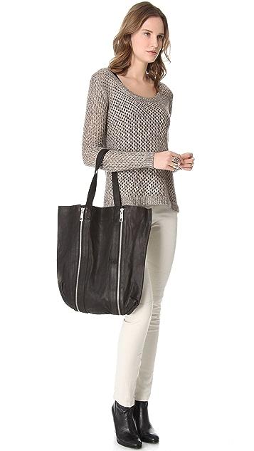 Scotch & Soda/Maison Scotch Leather Fashion Shopper