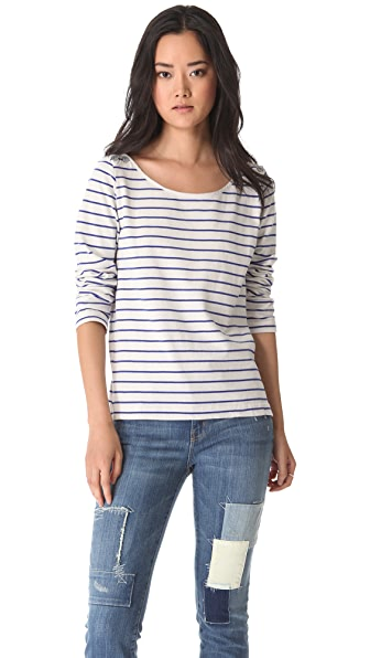 Maison Scotch Breton Stripe Tee