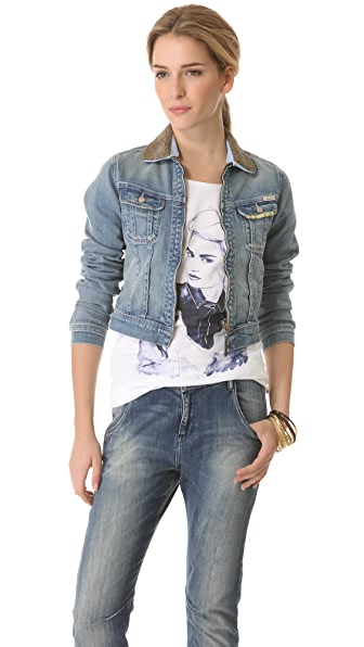 Maison Scotch Etoile Denim Jacket