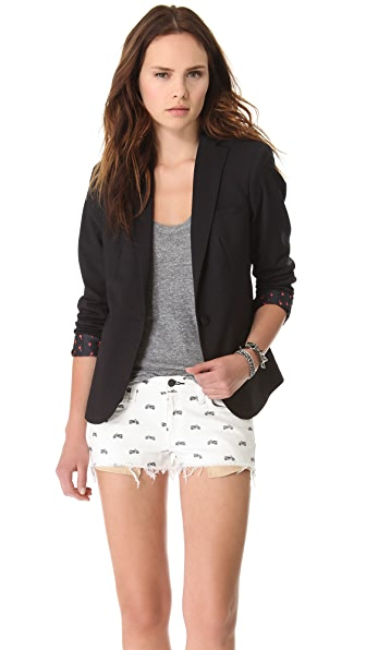 Scotch & Soda/Maison Scotch Basic Fitted Blazer