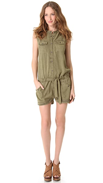Scotch & Soda/Maison Scotch Safari Romper