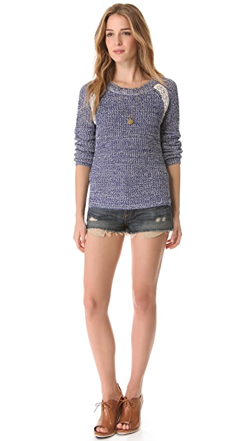 Scotch & Soda/Maison Scotch Colorful Melange Sweater
