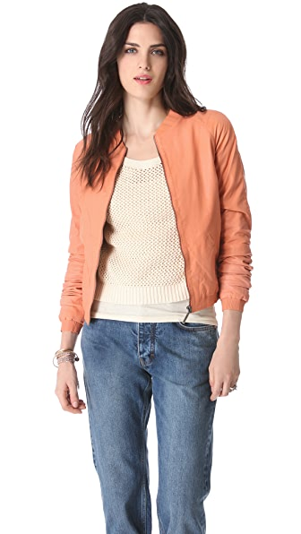 Maison Scotch Light Leather Jacket