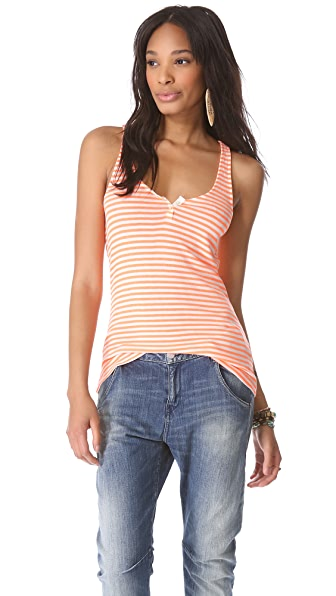 Scotch & Soda/Maison Scotch Basic Tank with Pocket