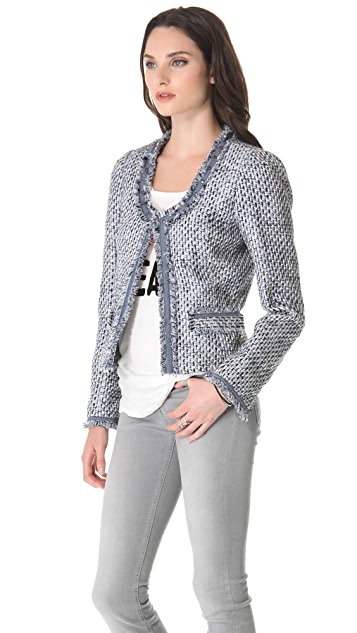 Scotch & Soda/Maison Scotch Tweed Blazer
