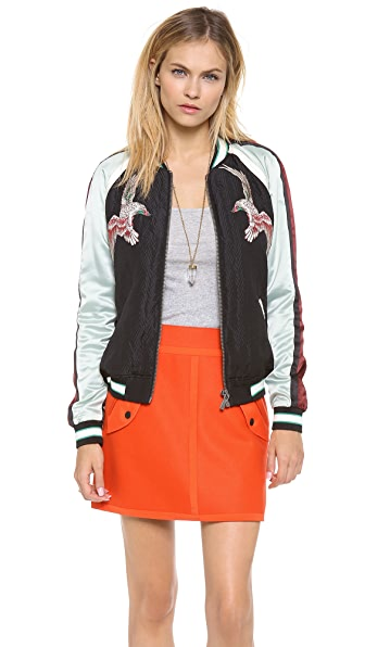 Scotch & Soda/Maison Scotch Silky Baseball Jacket