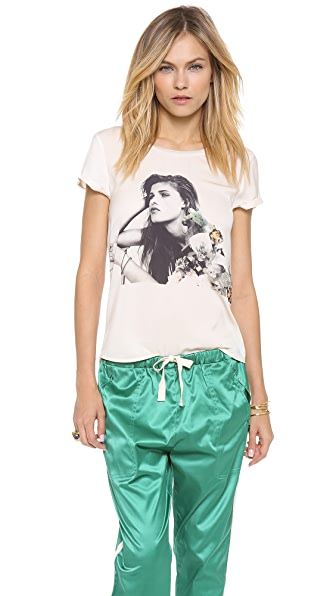 Maison Scotch Printed Tee