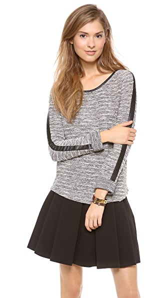 Maison Scotch Boucle Sweater