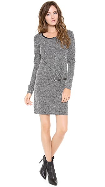 Scotch & Soda/Maison Scotch 3/4 Sleeve Dress with Zip