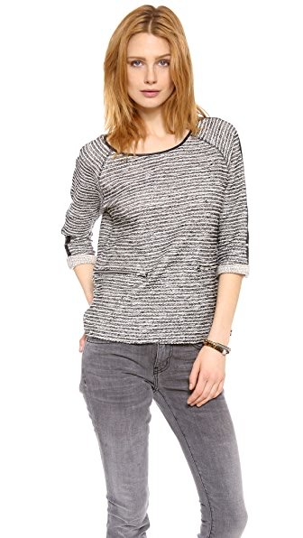 Maison Scotch Party Biker Sweater