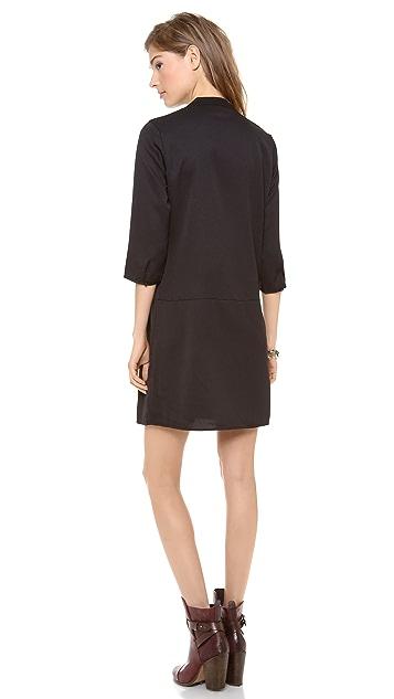 Scotch & Soda/Maison Scotch 3/4 Sleeve Dress