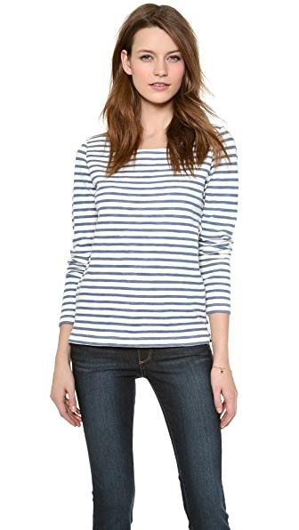Scotch & Soda/Maison Scotch Long Sleeve Stripe Top