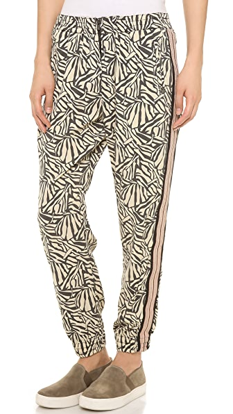 Maison Scotch Draped Pants with Tape